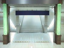 Escalera en paso subterráneo Imágenes de archivo libres de regalías