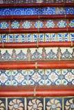 Escalera en San Francisco, California, los E.E.U.U. Fotografía de archivo libre de regalías