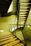 Escalera en un interior Imagen de archivo libre de regalías