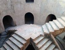Escalera en una mezquita subterráneo, Yogyakarta, Java Imagenes de archivo