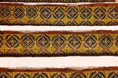 Escalera española del estilo Fotos de archivo