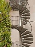 Escalera espiral Foto de archivo libre de regalías