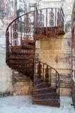 Escalera espiral del fuerte de Mehrangarh, Rajasthán, Jodhpur, la India Fotos de archivo libres de regalías