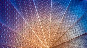 Escalera espiral del metal Imágenes de archivo libres de regalías