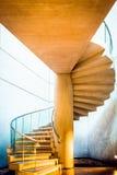 Escalera espiral en el edificio del este del National Gallery de Foto de archivo libre de regalías