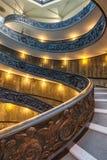 Escalera espiral en Vaticano Fotografía de archivo libre de regalías