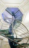 Escalera espiral moderna fotografía de archivo