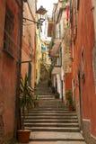 Escalera estrecha Imagen de archivo libre de regalías