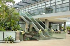 Escalera exterior Foto de archivo libre de regalías