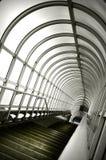 Escalera futurista Fotos de archivo libres de regalías