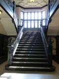 Escalera gótica del estilo Fotos de archivo