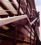 Escalera hacia arriba, símbolo Imagen de archivo libre de regalías