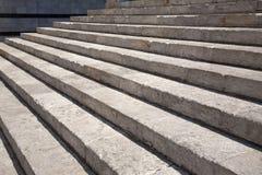 Escalera hasta Sienna Cathedral Church, Toscana fotografía de archivo