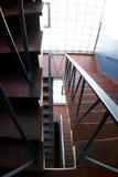Escalera industrial Imagen de archivo libre de regalías