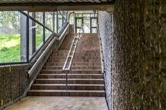 Escalera interior Foto de archivo libre de regalías