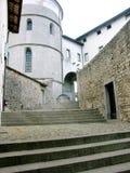 Escalera italiana en Cividale del Friuli imagen de archivo libre de regalías