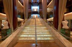 Escalera lujosa Foto de archivo libre de regalías