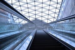 Escalera móvil Foto de archivo libre de regalías