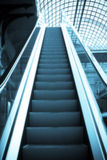 Escalera móvil Imagen de archivo