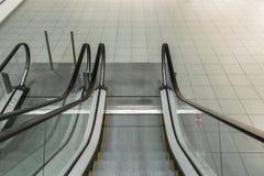 Escalera móvil a abajo Imagen de archivo
