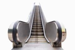 Escalera móvil al aire libre moderna aislada Imagen de archivo libre de regalías