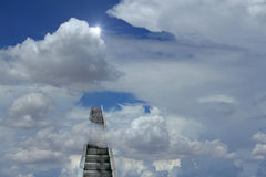 Escalera móvil divina fotos de archivo