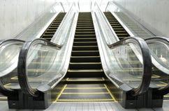 Escalera móvil futura Imagen de archivo