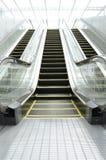 Escalera móvil futura Fotografía de archivo libre de regalías