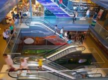 Escalera móvil Markthal Rotterdam Fotografía de archivo