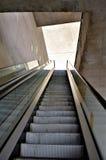 Escalera móvil que sube Imagen de archivo libre de regalías