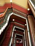 Escalera magnífica Fotos de archivo