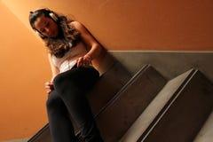 Escalera melancólica Fotos de archivo