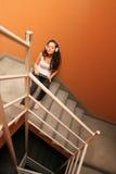 Escalera melancólica Foto de archivo