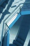 Escalera moderna Imagen de archivo libre de regalías