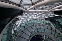 Escalera moderna del edificio Imagen de archivo