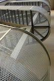 Escalera moderna del edificio Imagenes de archivo