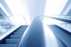 Escalera móvil del transporte Foto de archivo libre de regalías