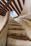 Escalera para ver la torre imagen de archivo