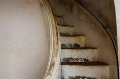 Escalera para ver la torre fotografía de archivo libre de regalías