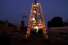 Escalera que lleva al cielo Fotografía de archivo