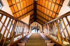 Escalera que va hacia arriba o hacia abajo Fotografía de archivo