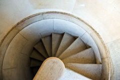 Escalera rizada Imágenes de archivo libres de regalías
