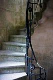 Escalera rizada Fotografía de archivo libre de regalías