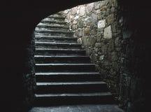 Escalera subterránea Imagenes de archivo