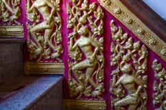 Escalera tallada Fotografía de archivo libre de regalías