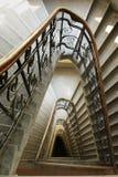 Escalera triangular Fotografía de archivo