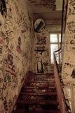 Escalera vieja Imágenes de archivo libres de regalías