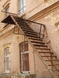 Escalera vieja Fotografía de archivo libre de regalías