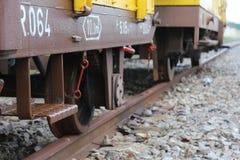 Escalera vieja del tren Foto de archivo