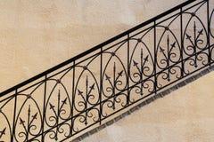 Escalera vieja, fragmento Imagen de archivo